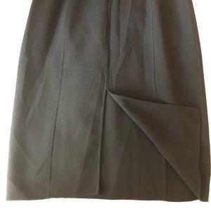 Michael Kors Dresses - Formal black below the knee long sleeve dress